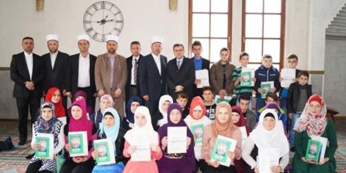 Medžlis Zenica na takmičenjima na nivou Muftiluka od sedam osvojio…