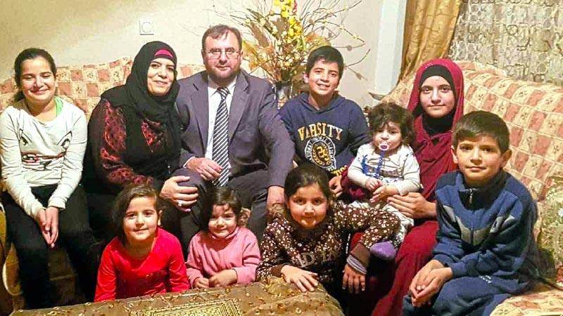 Bošnjak Enver i Palestinka Siham rodili osmero djece