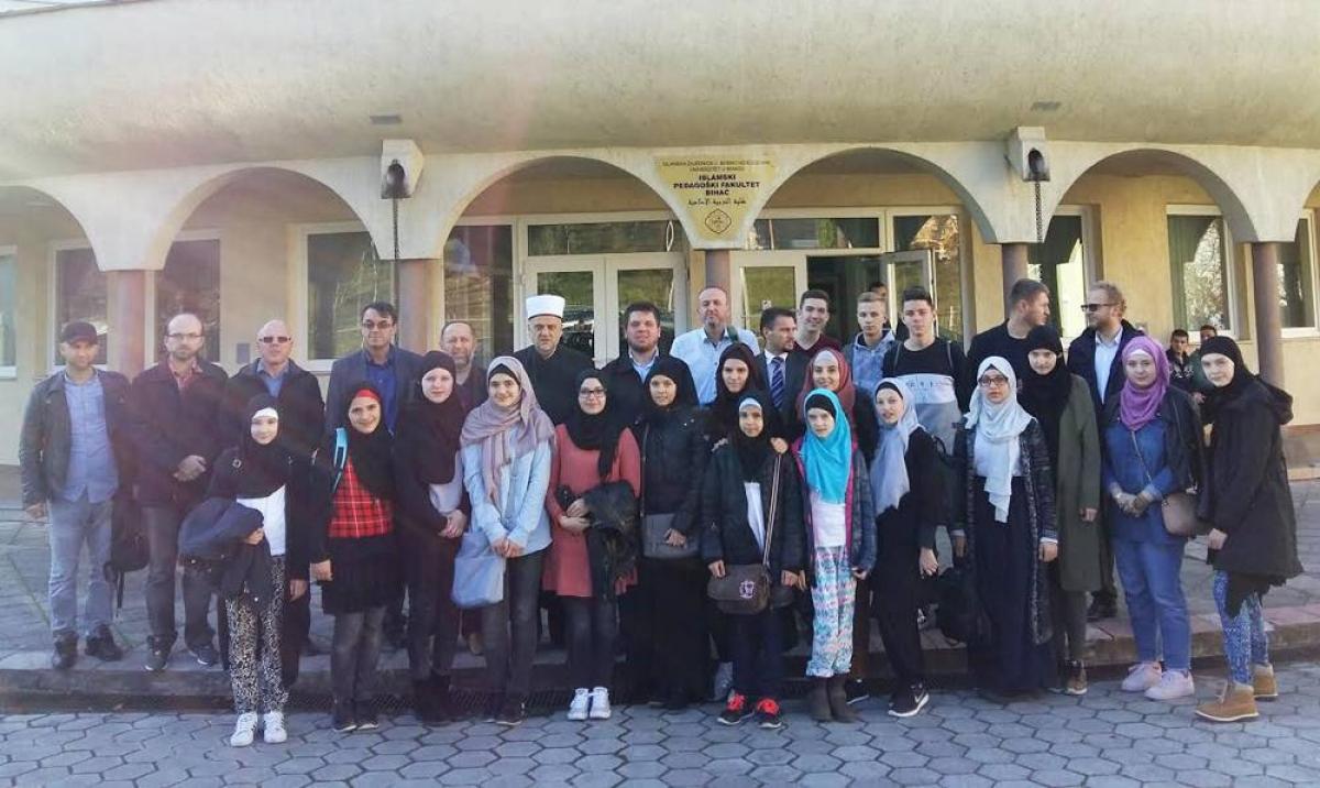 Učenici iz Ulma u posjeti Muftiluku bihaćkom