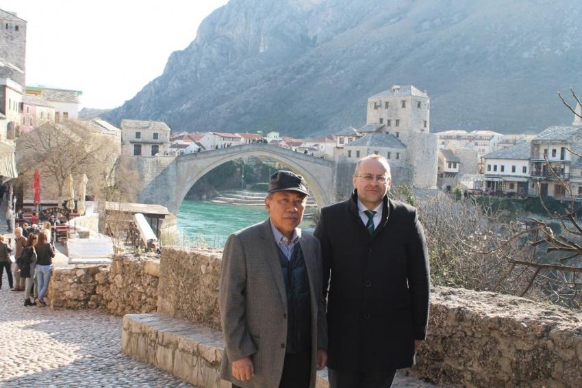 Izaslanik predsjednika R Indonezije u posjeti Mostaru