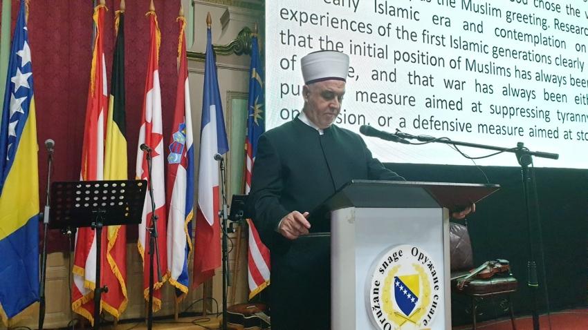 Reisu-l-ulema na akademiji povodom 20. godišnjice Vojnog muftijstva