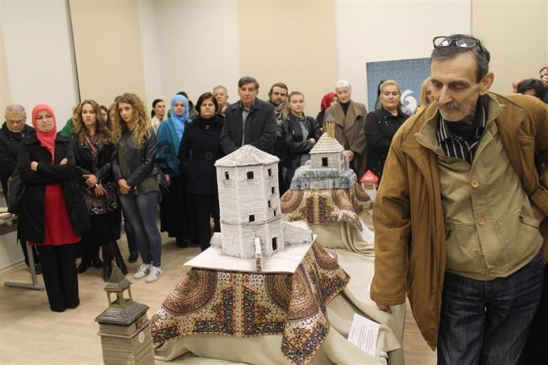 Mostar: Otvorena izložba maketa bosanskih građevina iz osmanskog perioda