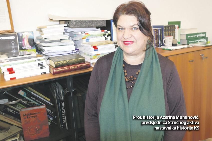 Prof. historije Azerina Muminović - Učimo o opsadi Sarajeva i Genocidu u Srebrenici