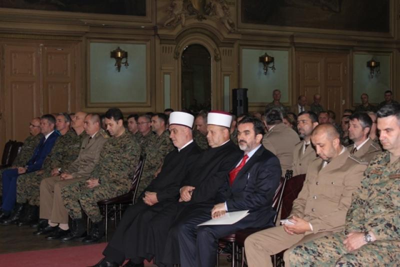 """Reisu-l-ulema Kavazović u Domu Oružanih snaga: """"Naš ideal je mir i sigurnost naše domovine, njenih ljudi, dobara i vrijednosti"""""""