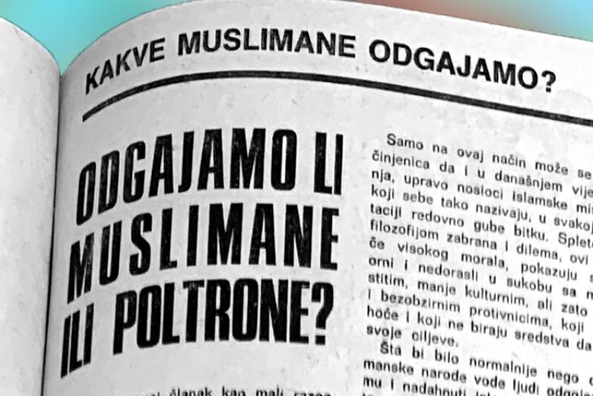 Odgajamo li muslimane ili poltrone?