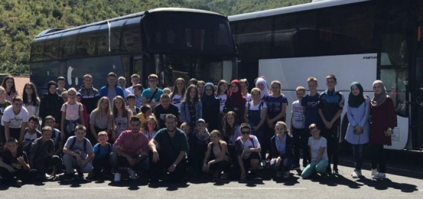 Nagradni izlet za učesnike mektebskog takmičenja MIZ Travnik