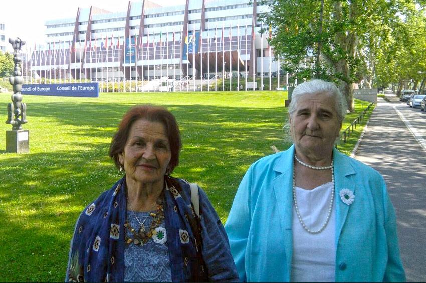 Strasbourg: Predstavnice Udruženja Pokret Majke enklave Srebrenica i Žepa u posjeti Vijeću Evrope