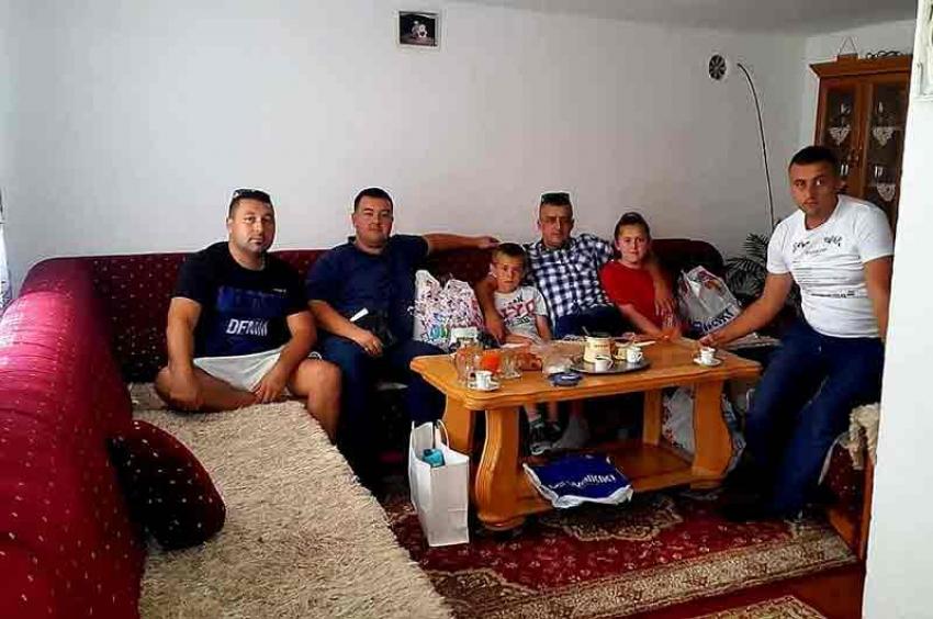 Pomoć za dvije porodice jetima iz Gornjeg Vakufa
