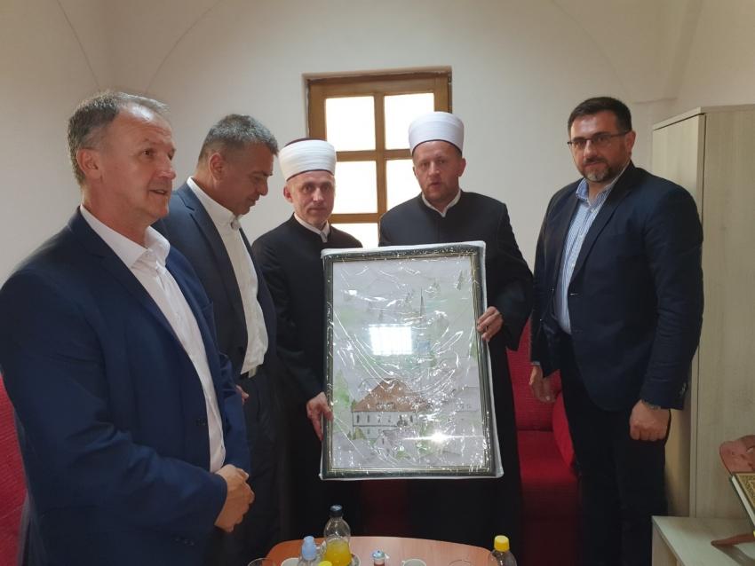 Muftija bihaćki u službenoj posjeti Medžlisu Bosanska Kostajnica