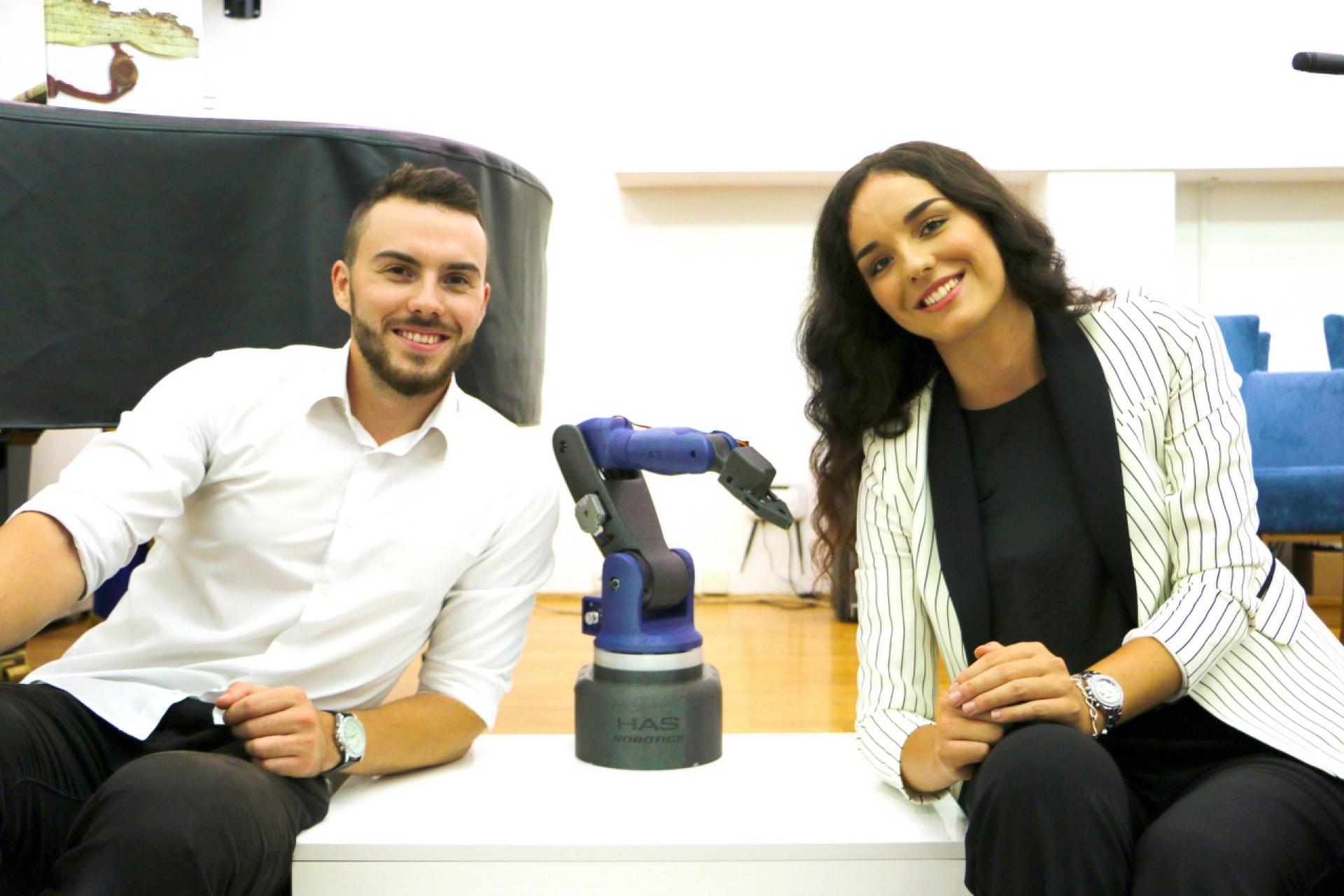 Haris Salkić: Ljubav prema robotici