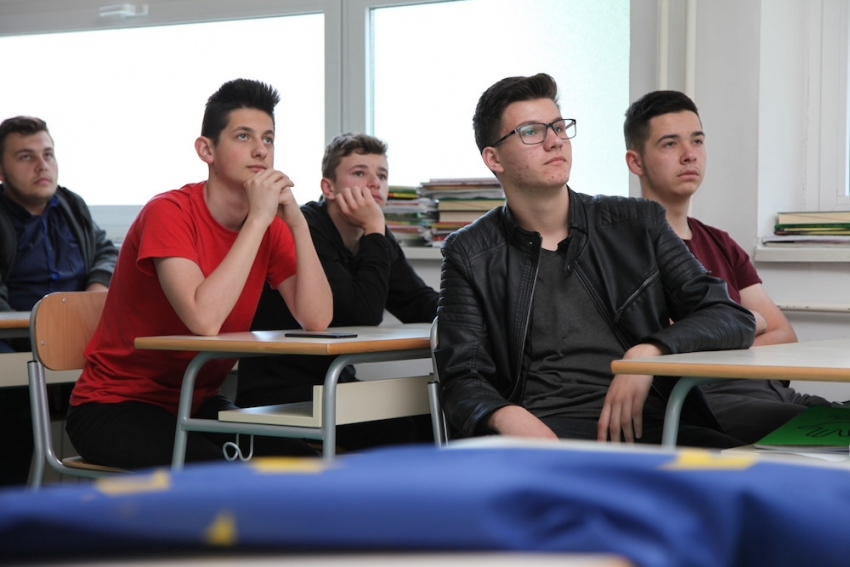 Mladi iz BiH i EU integracije: Održana predavanja i radionice u medresama