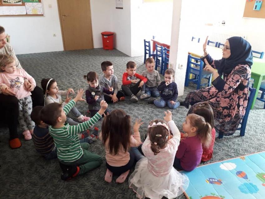Medžlis Livno: pokrenuta igraonica za predškolski uzrast