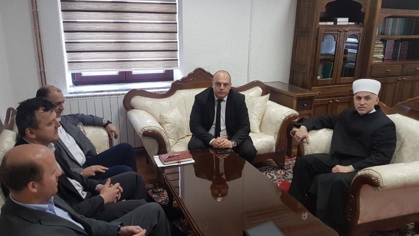 Premijer Unsko-sanskog kantona posjetio Muftiju bihaćkog