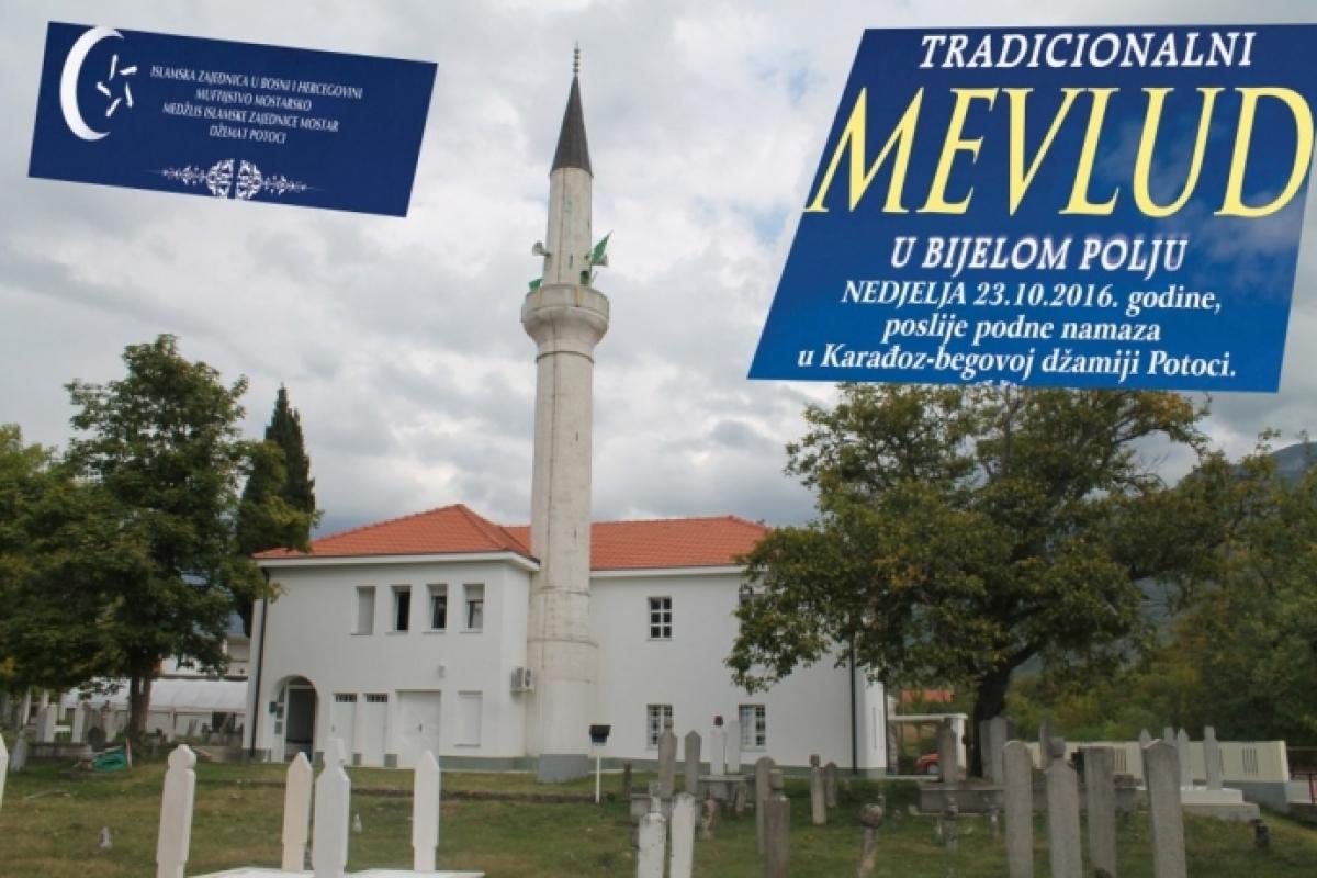 Mostar: Mevlud u Bijelom Polju